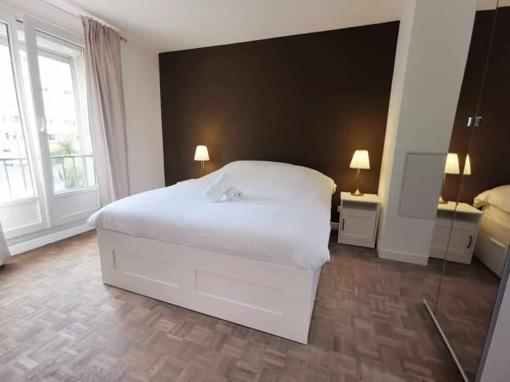 Chambre luxueuse location courte durée