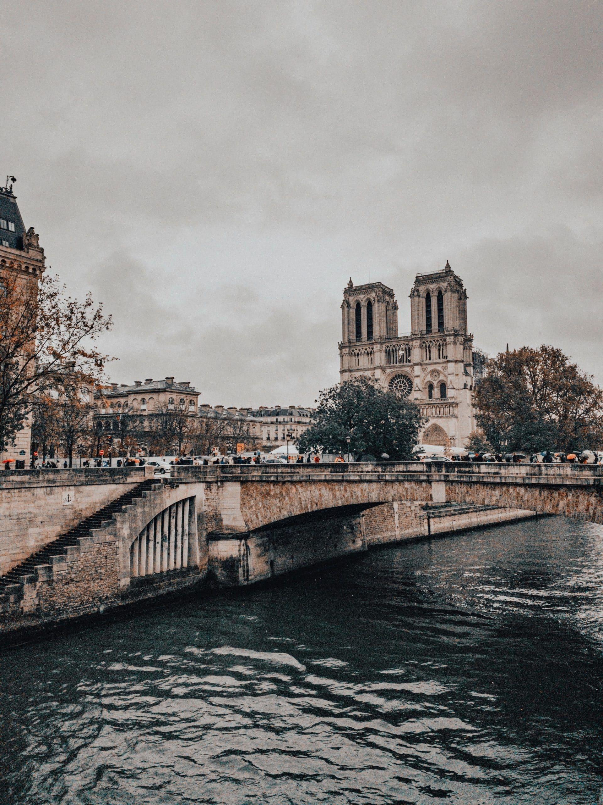 Cathédrale Notre-Dame de Paris et la Seine
