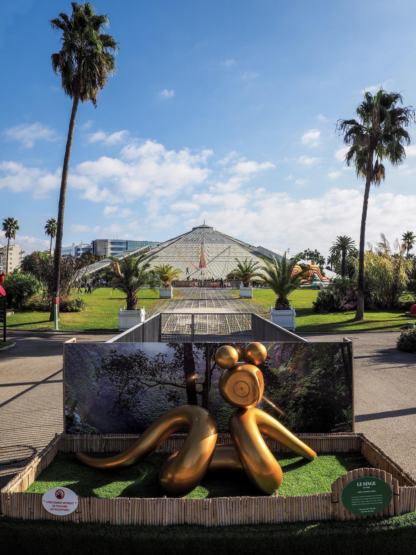 Parc du Phoenix à Nice