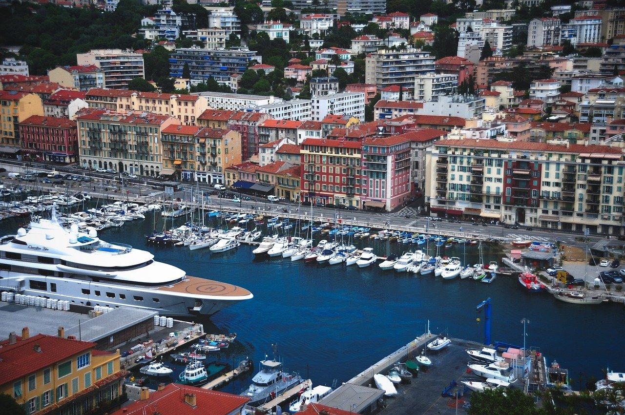 Port de Nice et bateaux de plaisance
