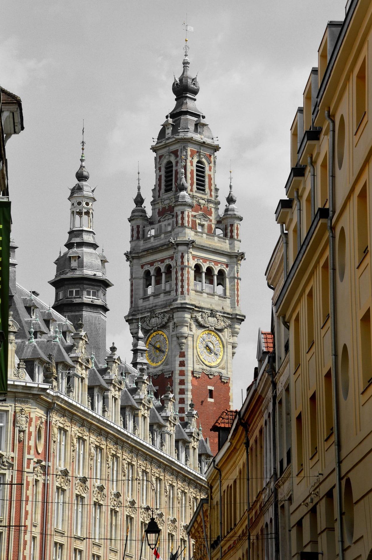 Vieux-Lille et monument