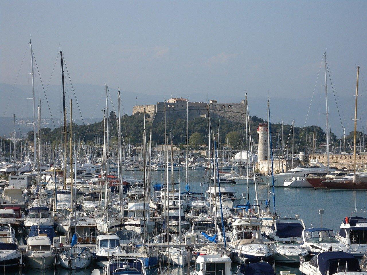 Port Vauban à Antibes Méditerranée